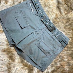 Dollhouse Army Green Shorts Juniors 9